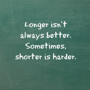 shorter