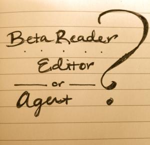 beta reader, editor, agent?