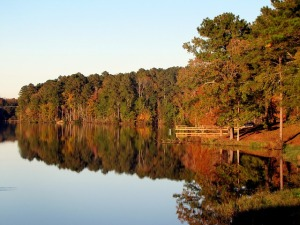 seasons change lake